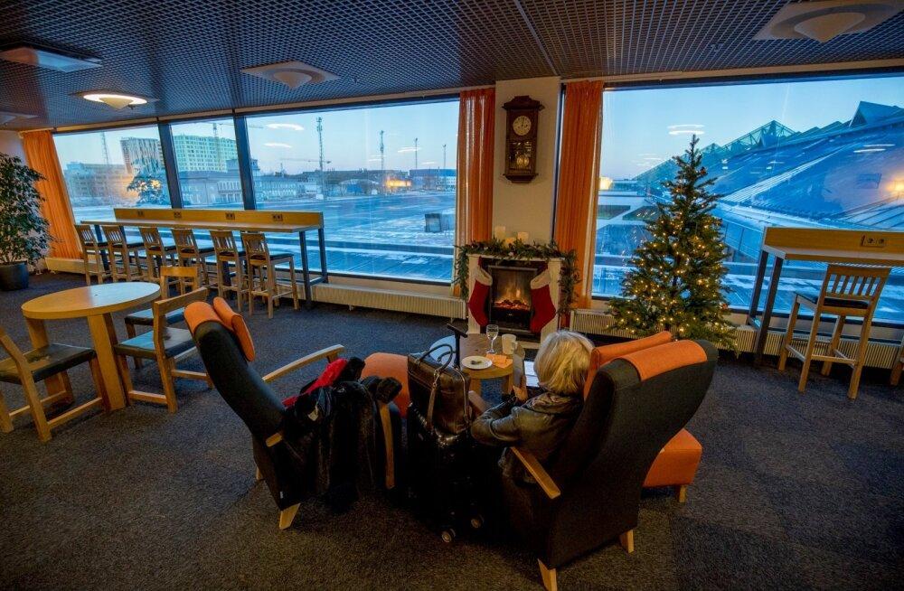 Tallinna lennujaama äriklassi ootesaal