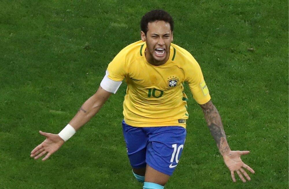 Brasiilia koondise suurim staar Neymar peaks MM-iks olema suurepärases löögihoos.