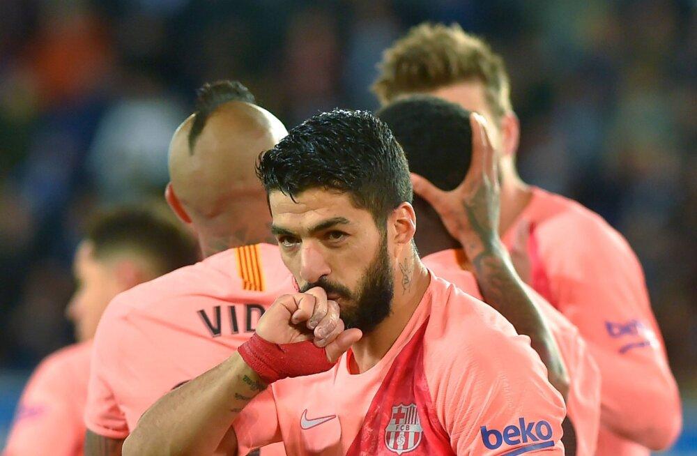 VIDEO | Barcelona astus ühe sammu tiitli kindlustamisele lähemale