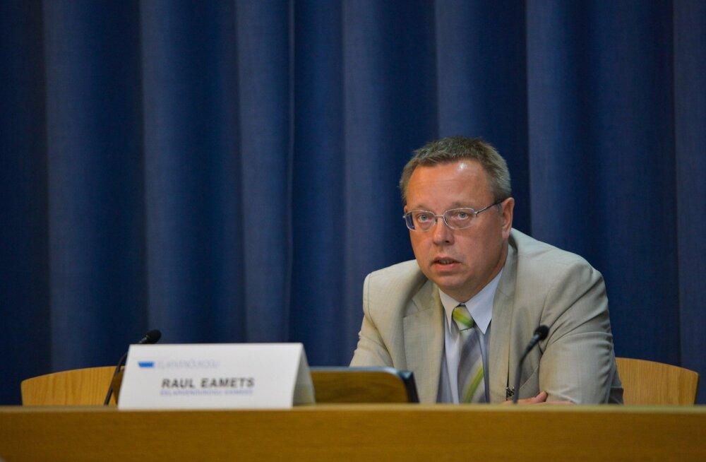 Raul Eamets, Eelarvenõukogu esimees.