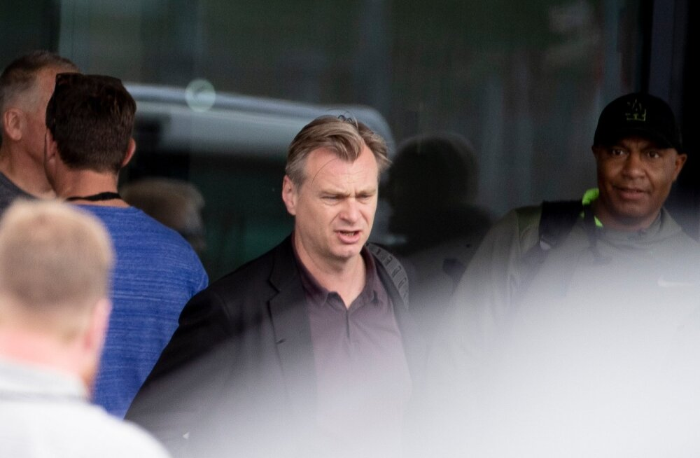 Christopher Nolani võttegrupi saabumine Tallinna 11.06.2019