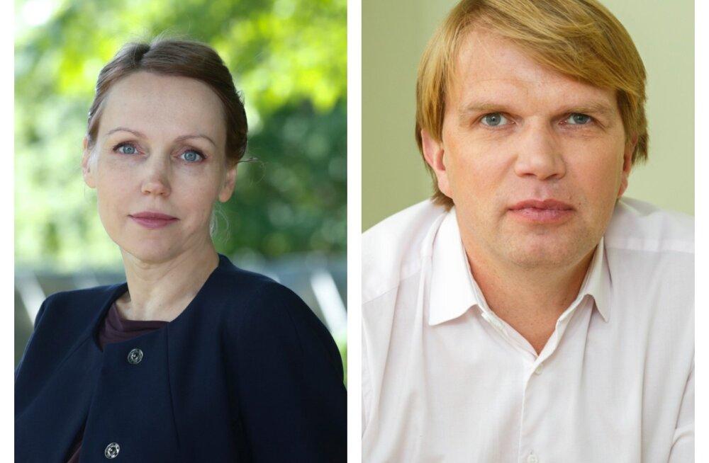 Arenguseire Keskuse juht Tea Danilov ja uuringute juht Meelis Kitsing.