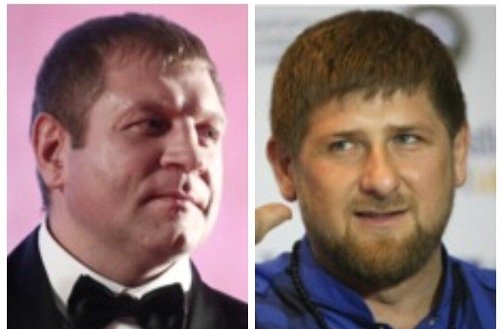 Aleksander Emelianenko vs Ramzan Kadõrov