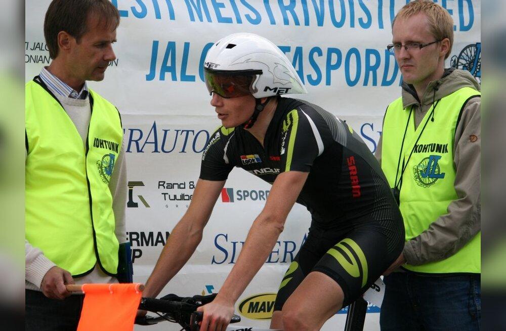 Rene Mandri, jalgratas