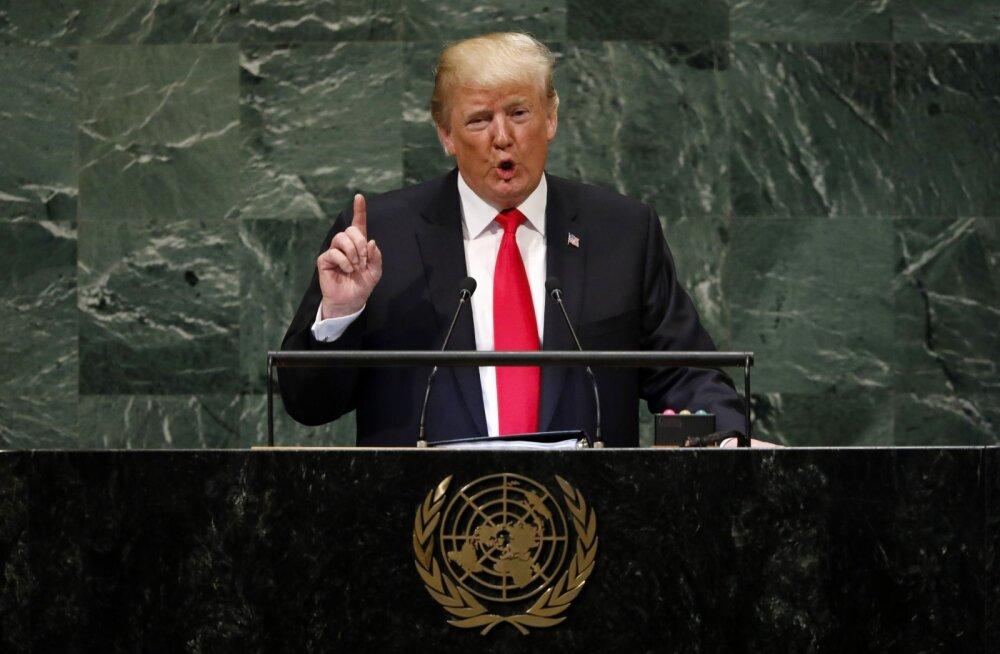Что сказал Трамп на Генассамблее ООН. Основные тезисы