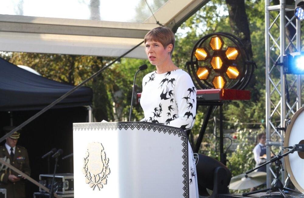 Kaljulaid ERR-ile: Eesti on majanduslikult seal, kus oli Soome 1995. aastal