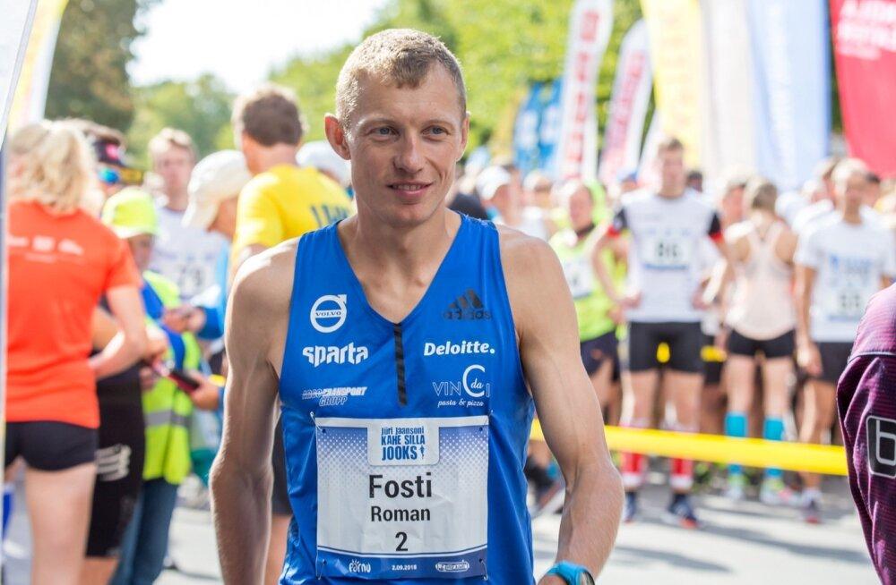 Jüri Jaansoni 2 silla jooks 2018