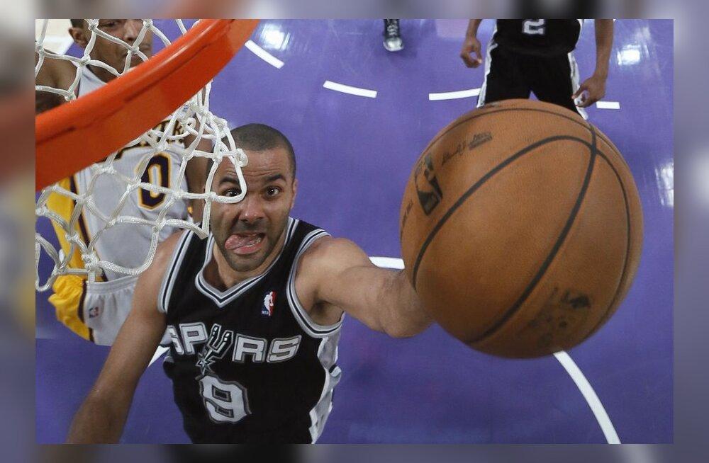 NBA play-off: Miami ja Spurs pääsesid edasi, Bucksi ja Lakersi hooaeg läbi