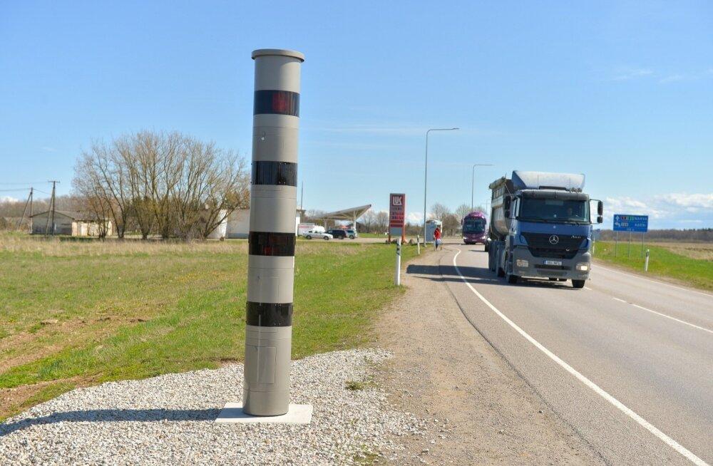 Uus kiiruskaamera Narva maanteel