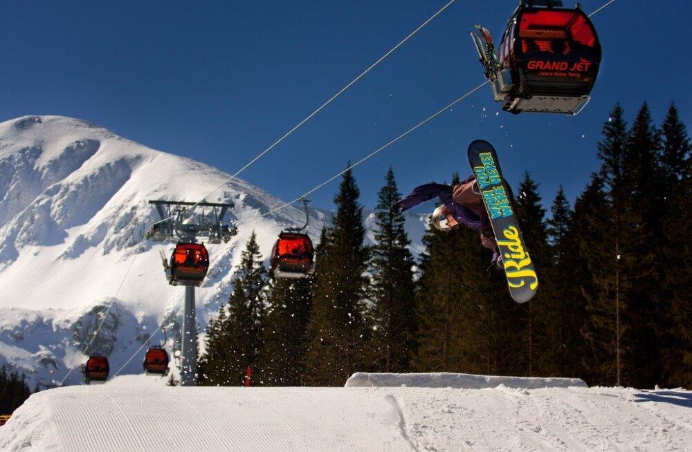 Kõrg- või Madal-Tatrad? Kus sellel talvel lumelauaga sõita?