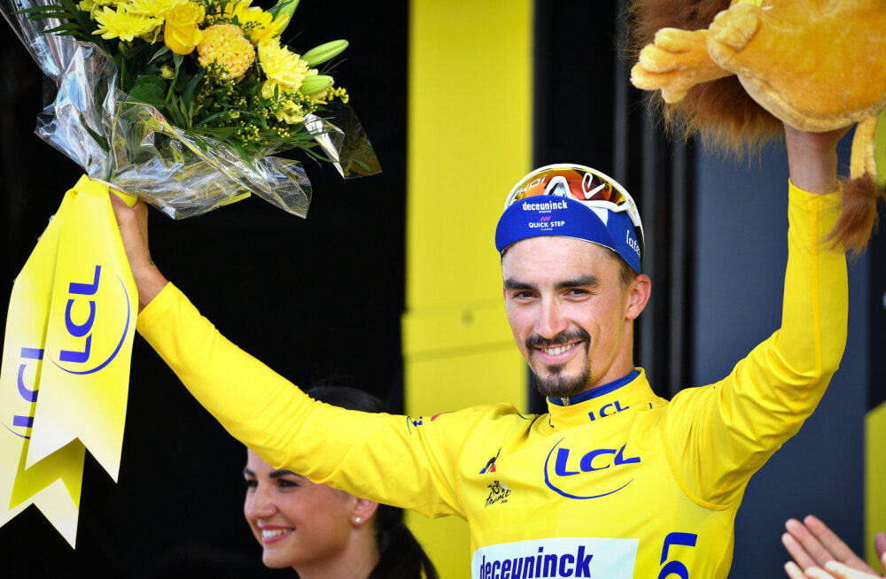 Julian Alaphilippe võitis parima ratturi auhinna Velo d'Or'i