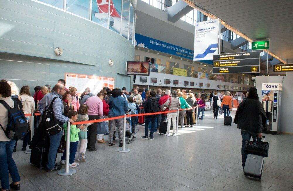 Tallinna lennujaamas