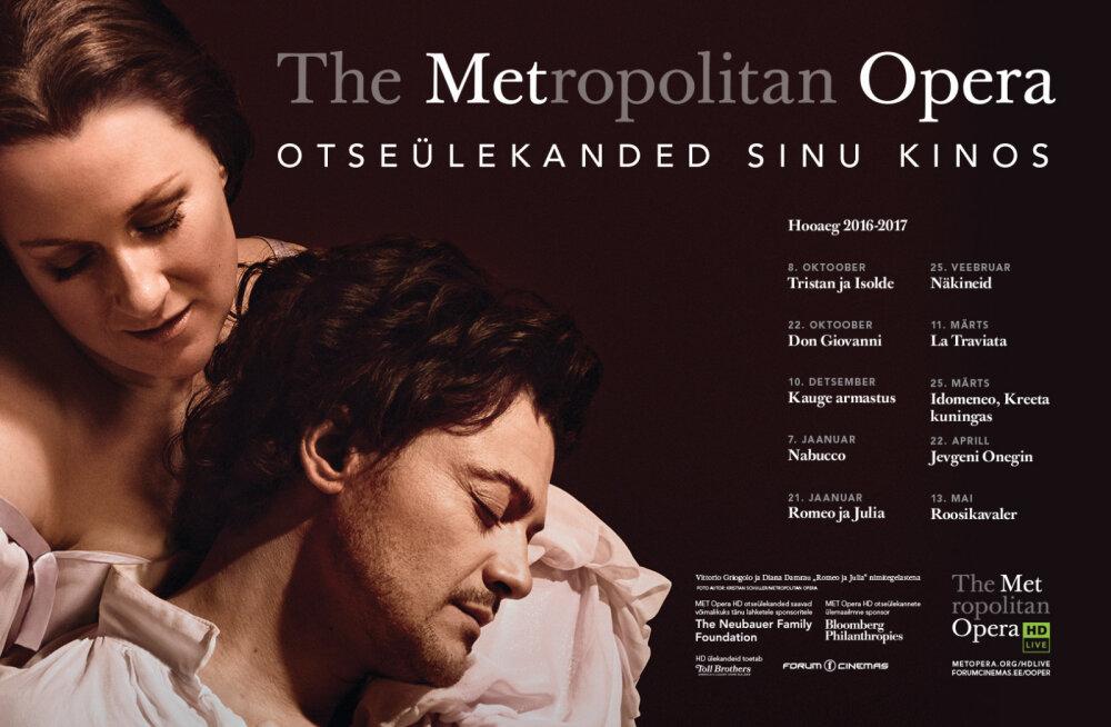 Metropolitan Opera HD hooaeg Forum Cinemas kinodes