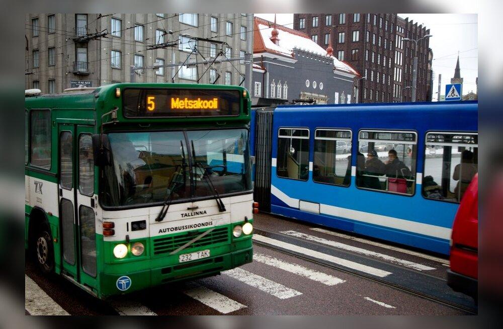 Buss, troll ja tramm panevad leivad ühte kappi