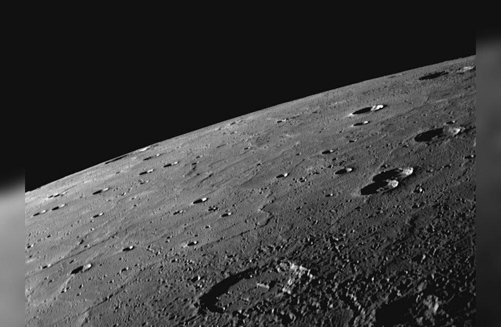Merkuuri pind Messengeriltr pildistatuna. Foto: NASA; AFP