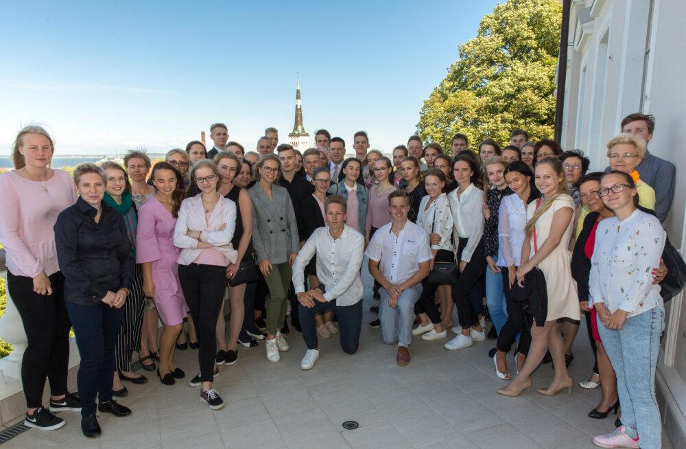 Ратас призвал юных предпринимателей вырастить из ученических фирм жизнеспособные предприятия