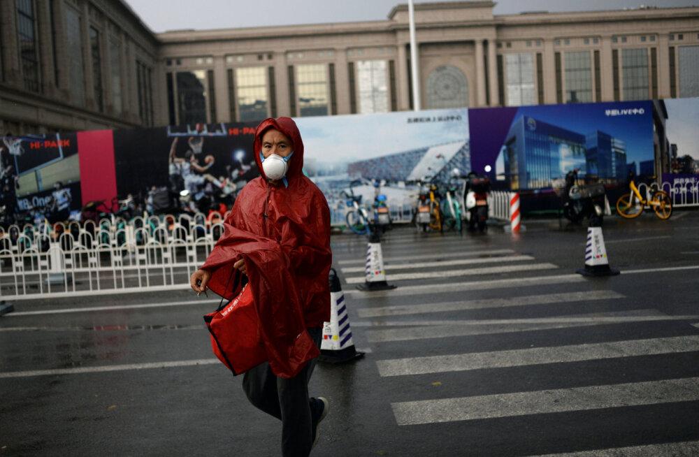 Hiina kehtestas poolele miljonile elanikule reisipiirangud
