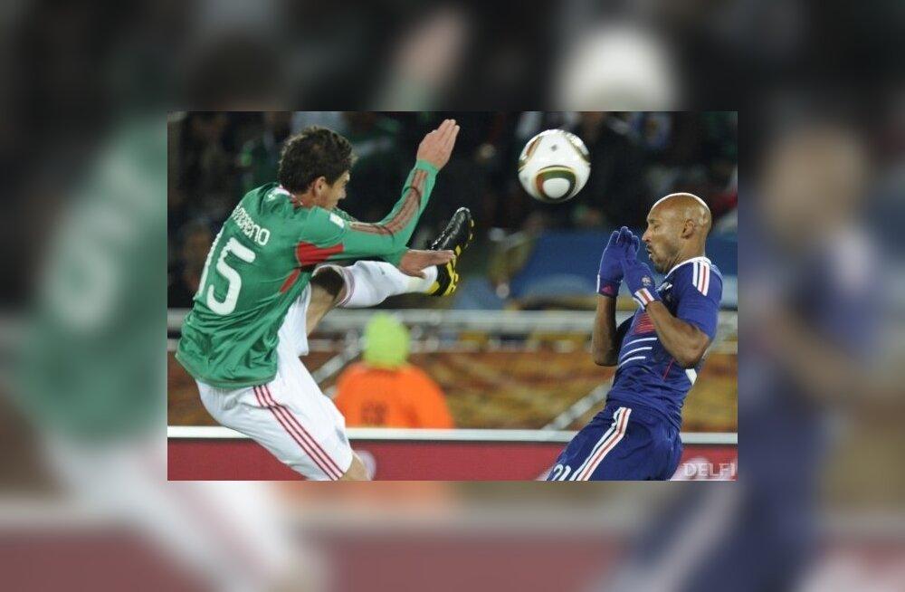 Jalgpalli MM, vastasseis Prantsusmaa-Mehhiko