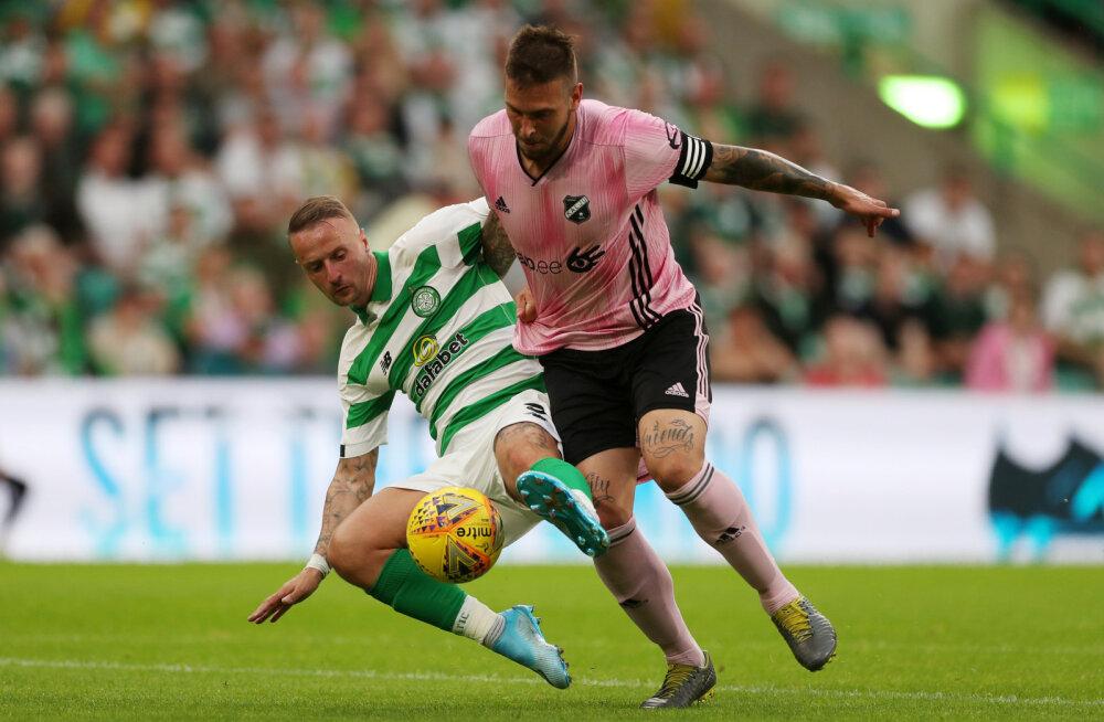 Nõmme Kalju kapten: peame oma fännidele tõestama, et oleme paremad, kui Glasgow' mäng näitas