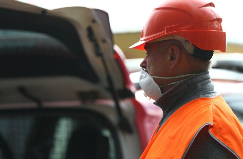 Esmane õhumõõtmine ei tuvastanud jäätmejaama põlengul tervisele ohtlikke ühendeid