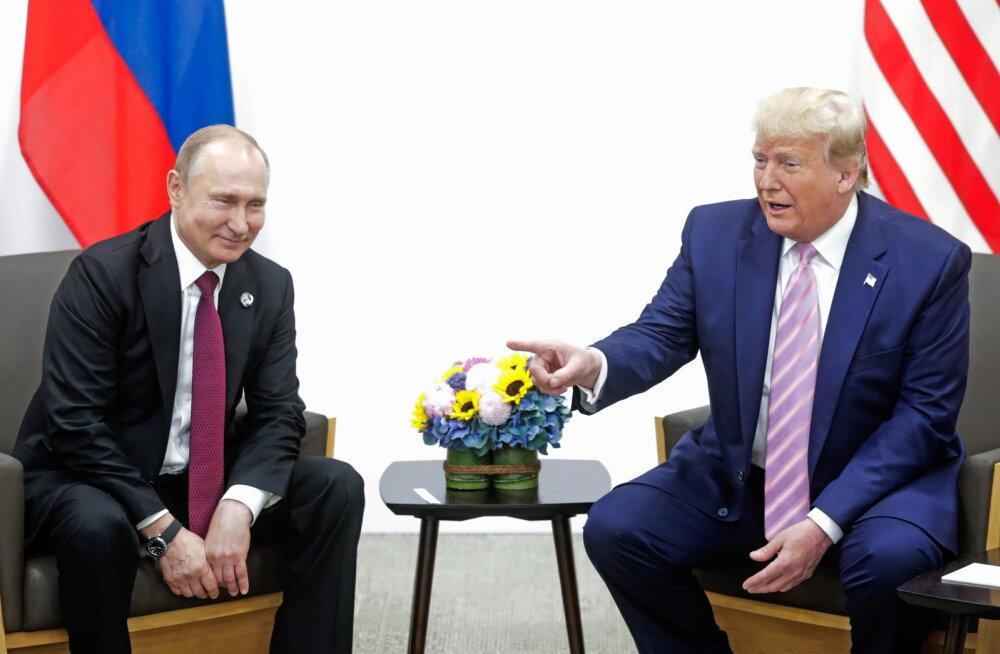 USA Kongress kavatseb välja nõuda ka üleskirjutised Trumpi kõnedest Putiniga