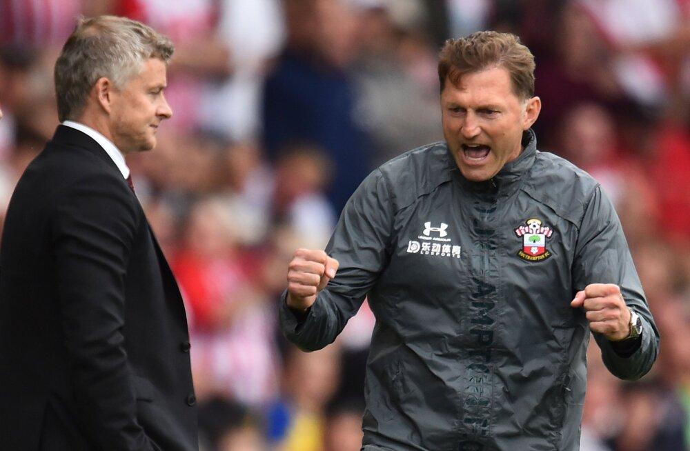 Manchester United ei saanud jagu kümnekesi jäänud Southamptonist