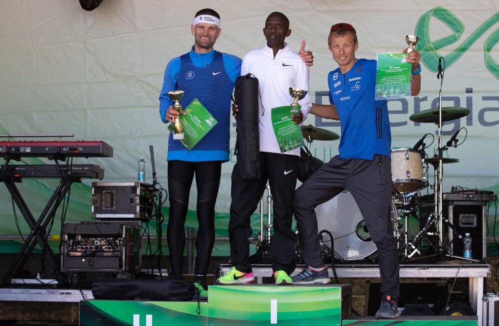 Narva Energiajooksu võitsid Dominic Kiptarus ja Leila Luik