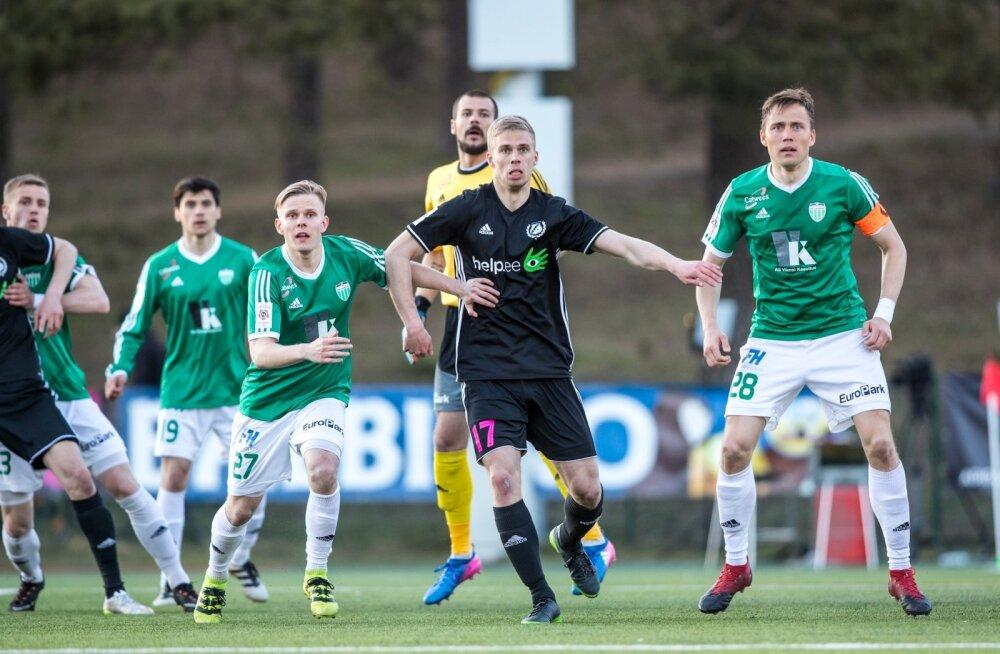 Nõmme Kalju vs FC Tallinna Levadia