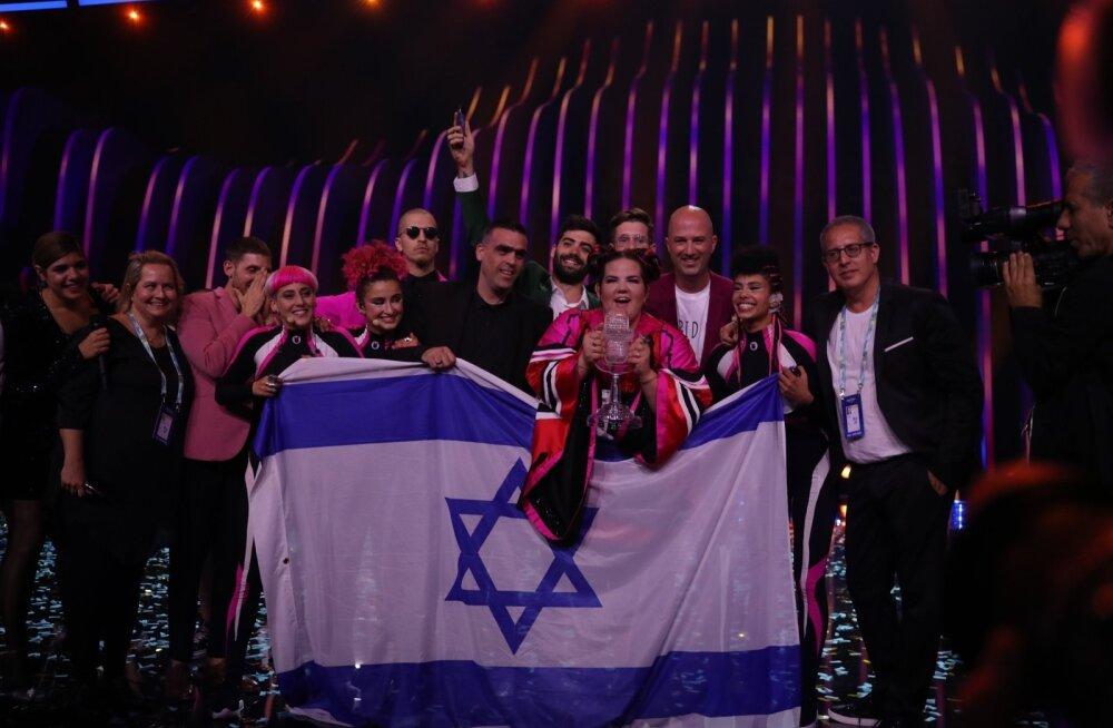 Täna kukub Eurovisioni korraldamiseks vajaliku tagatisraha esitamise tähtaeg: EBU on Iisraeli loobumiseks juba valmis