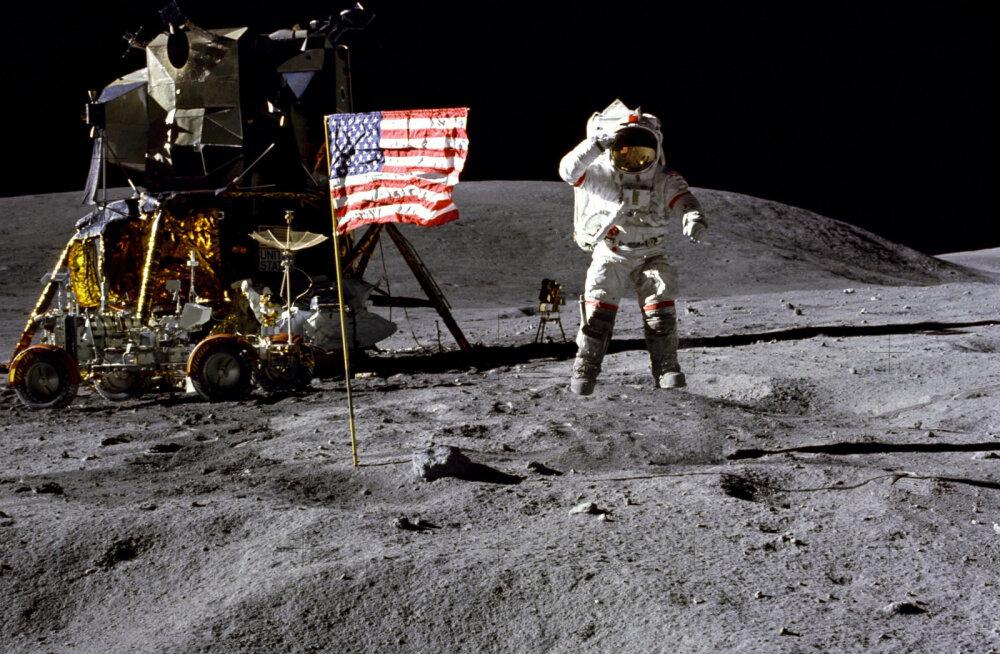 USA asepresident: 2028 pole piisav, NASA olgu viie aasta pärast Kuu peal, või muidu..