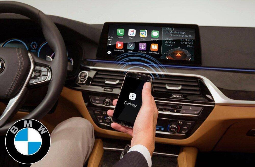 BMW plaanib Apple CarPlay kasutamise tasuliseks muuta ja summad on üsna soolased