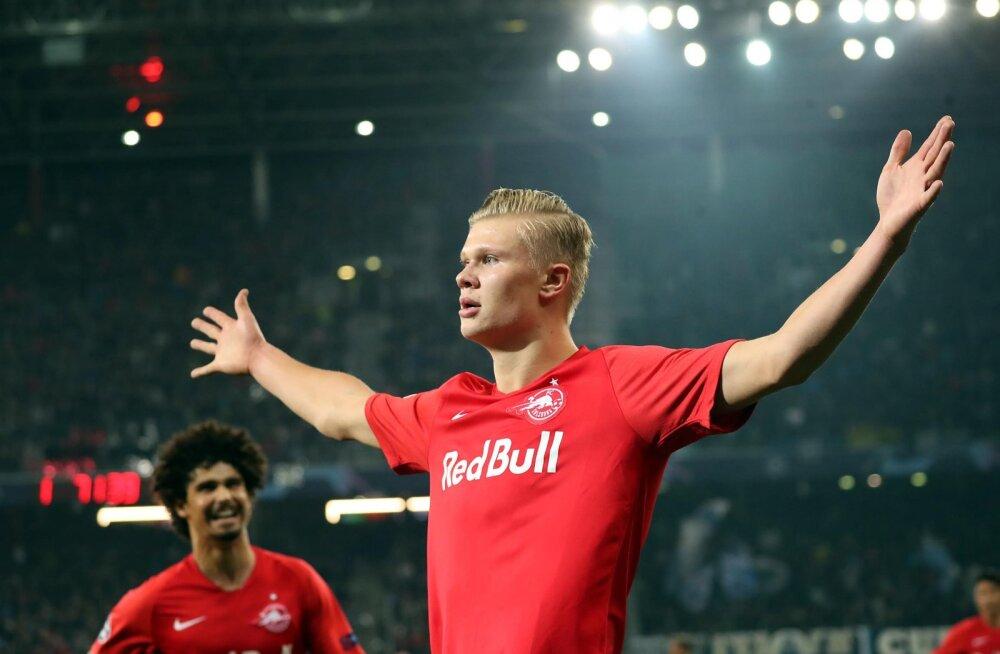 Briti meedia: Norra supertäht soovib liituda Manchester Unitediga, Solskjaer käis Austrias mängijaga kohtumas