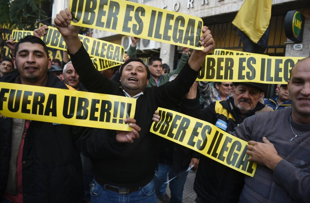 Oluline vastulöök eduloole: kohus andis vaidluses Uberiga õiguse autojuhtidele