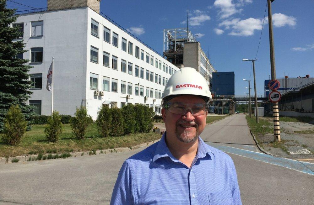 Eastman Specialties OÜ tegevjuht Hannes Reinula