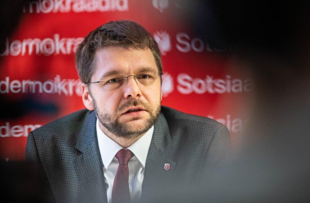 Sotsiaaldemokraatide pressikonverents