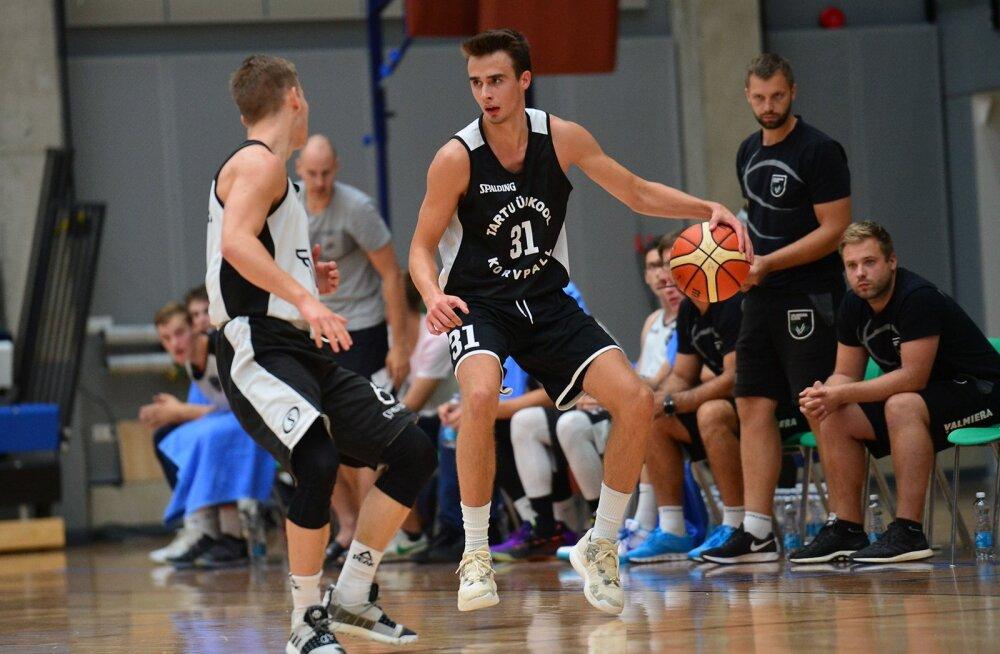 Uute nägudega Tartu korvpallimeeskond alustas kontrollmänge võiduga