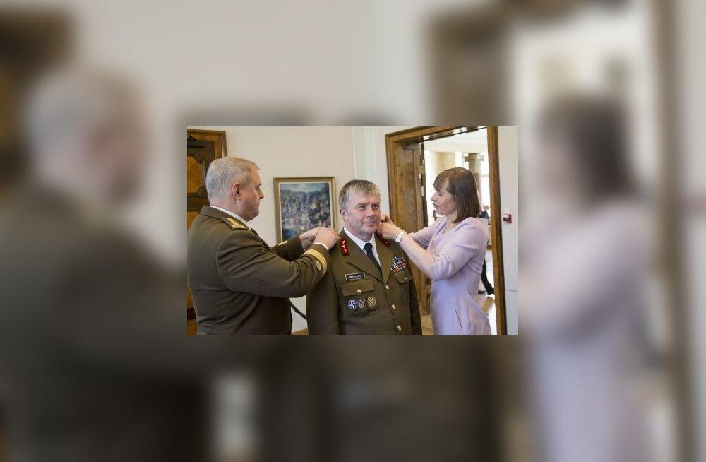 Riigipea ülendas Meelis Kiili kindralmajoriks