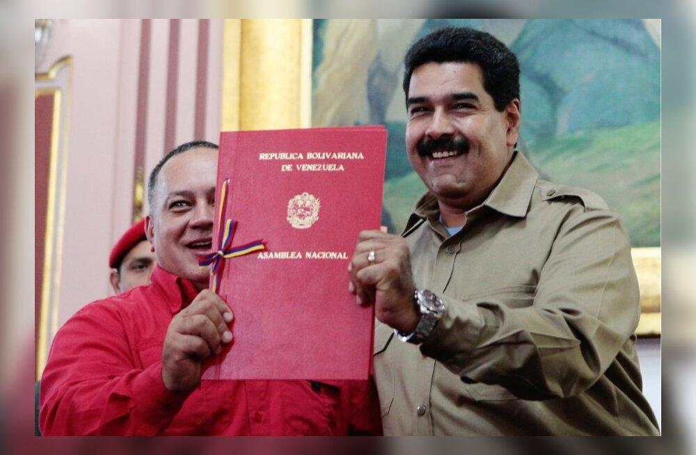 Venezuela sotsialistlik president sai parlamendilt dekreetidega valitsemise volitused