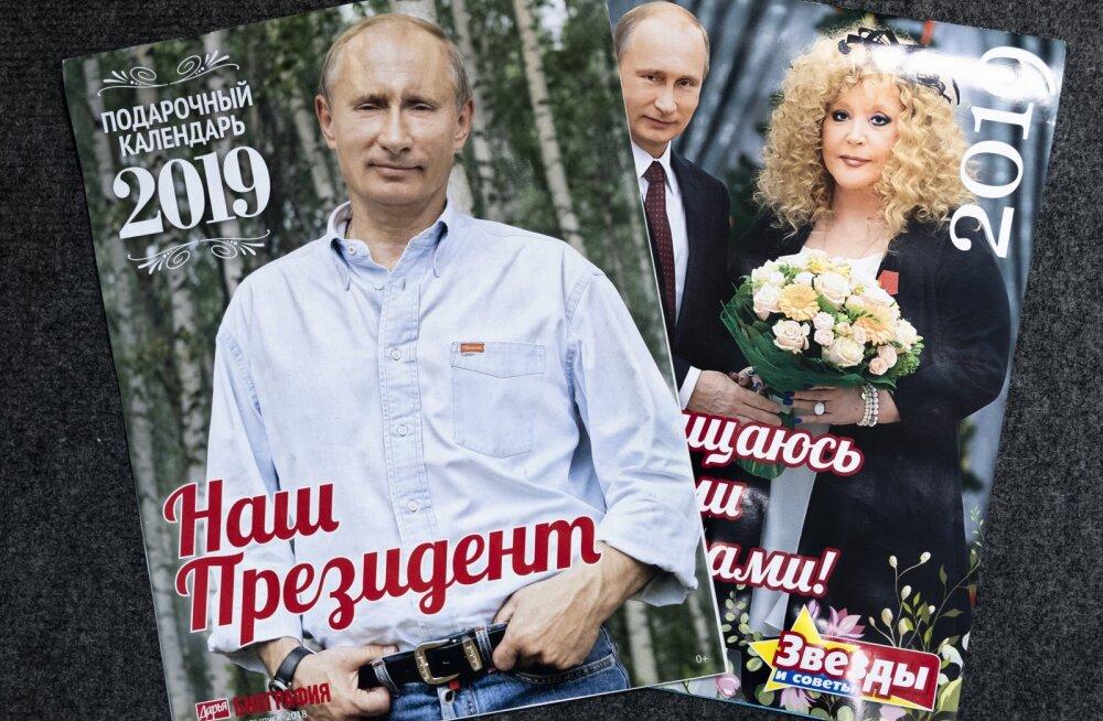 Tõeline üllatus. Jaapanis on enimmüüvad seinakalendrid... Vladimir Putini piltidega