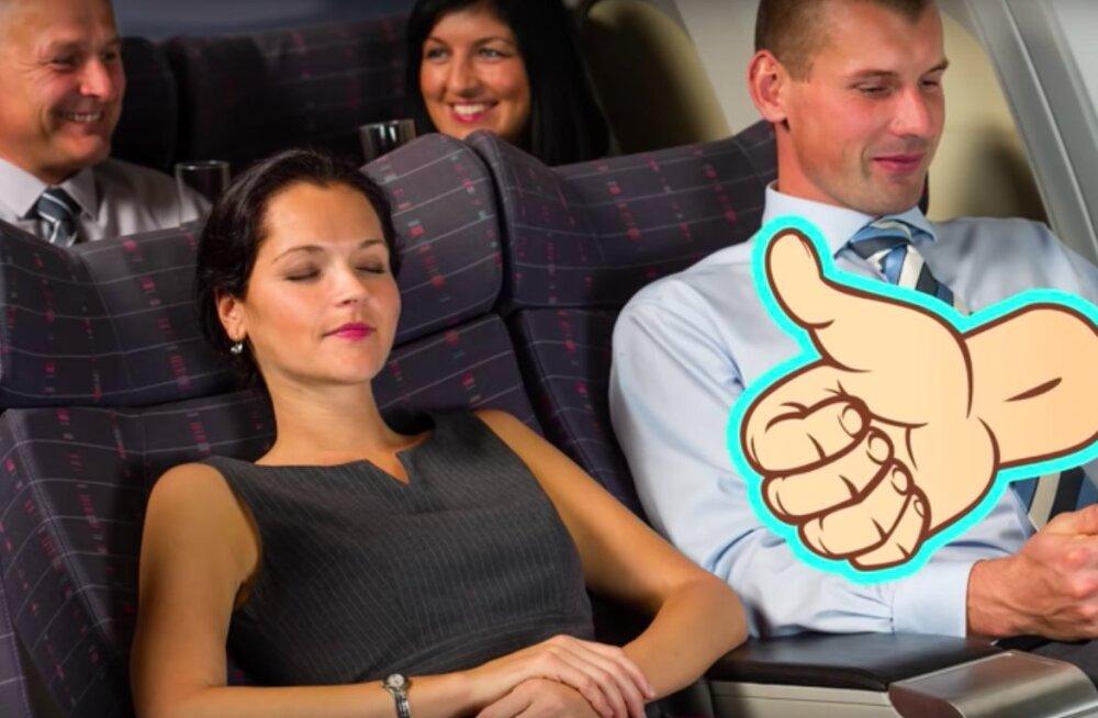 VIDEO | 10 vähetuntud nippi, mis aitavad lennukis suurepäraselt magada