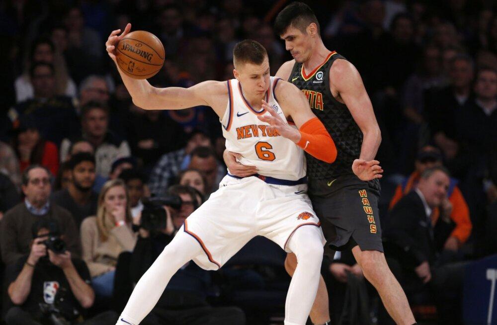 VIDEO   Porzingise resultaltiivne mäng vedas Knicksi raskele võidule