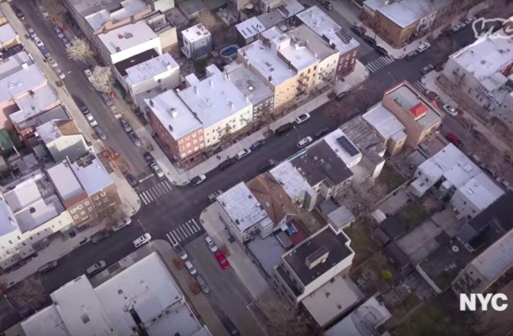 AMEERIKA KUMMITUSLINNAD   Vaata videot tühjaks jäänud metropolidest, kus veel üürikese aja eest kihas vilgas elu