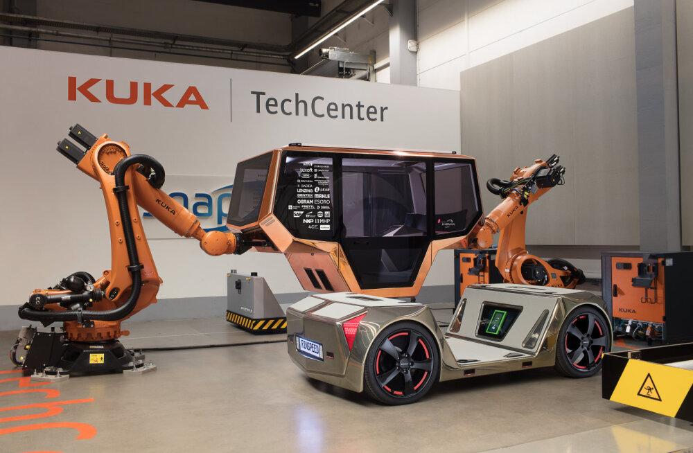 Järgmise aasta Las Vegase tehnikamessil saab näha isesõitvat autot, mille arendamisel on oluline osa ka eestlastel