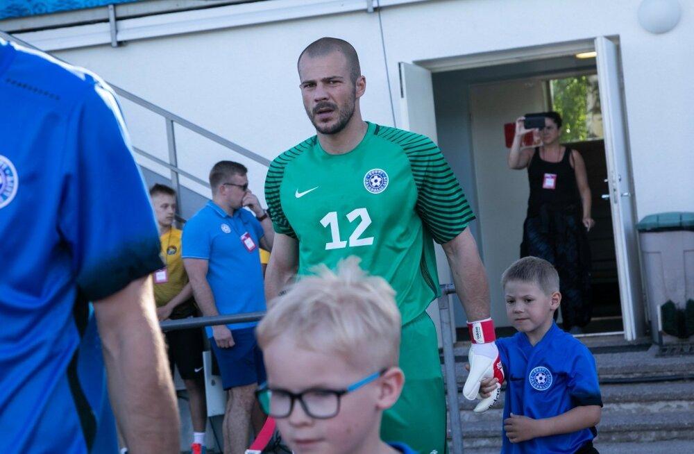 Sergei Lepmets tegi koondisedebüüdi 2018. aasta mais Rakveres Balti turniiril Leedu vastu.