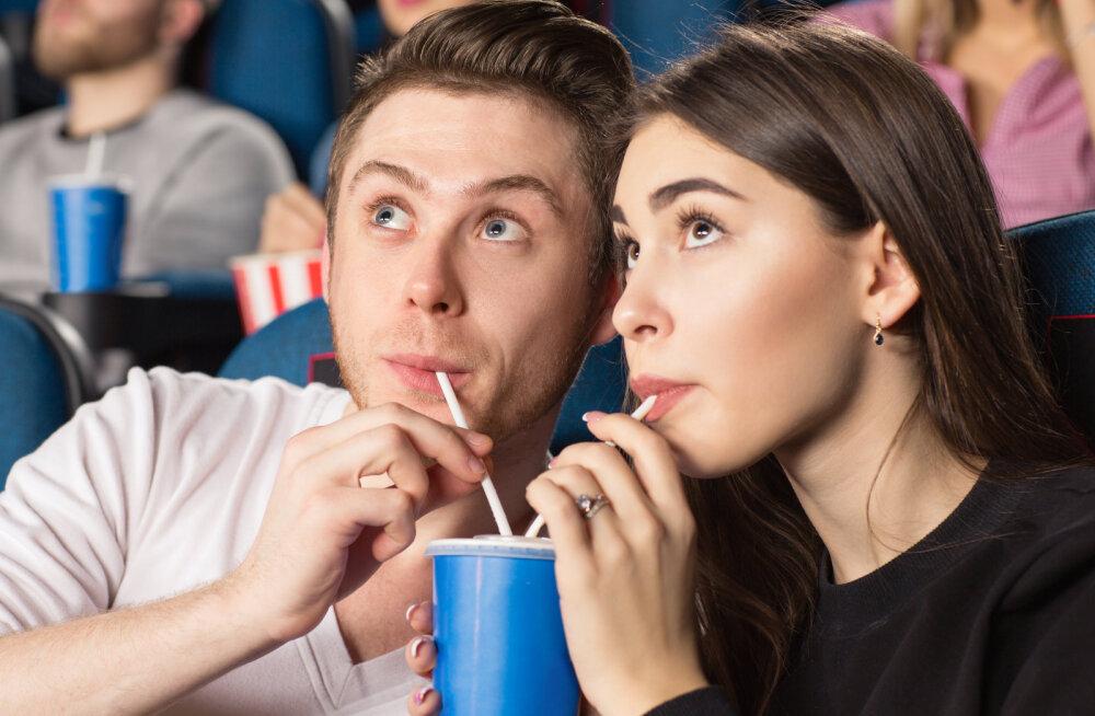 Viis põhjust, miks on kino parim koht kohtinguks