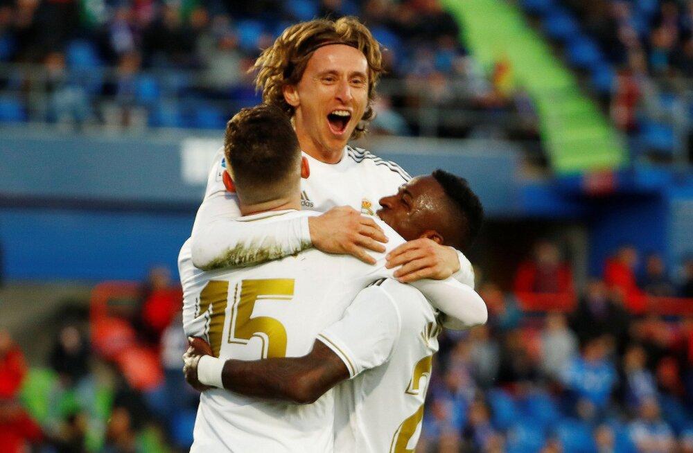 Aastat võidukalt alustanud Madridi Real kerkis Hispaanias liidriks