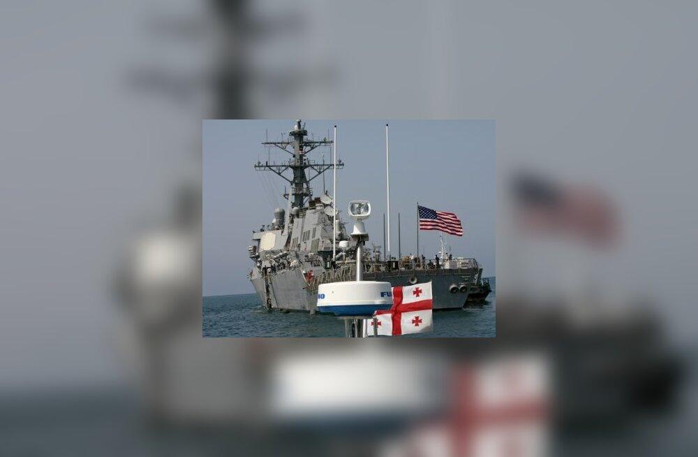 USA sõjavägi lõpetas Gruusia abioperatsiooni