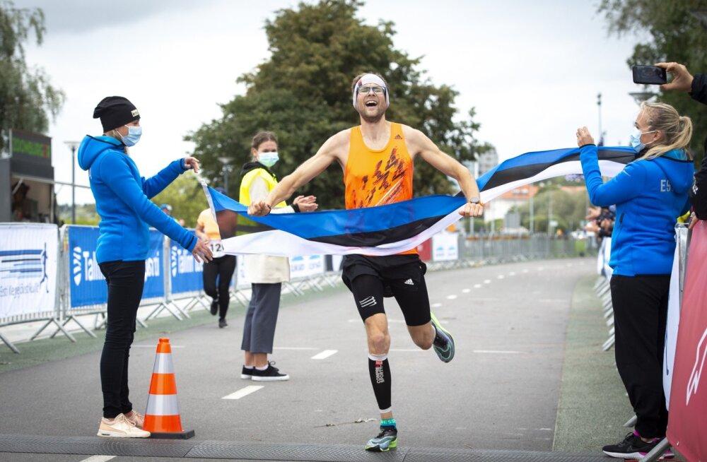 Eesti meistriks maratonis krooniti Rauno Jallai ja Marion Tibar