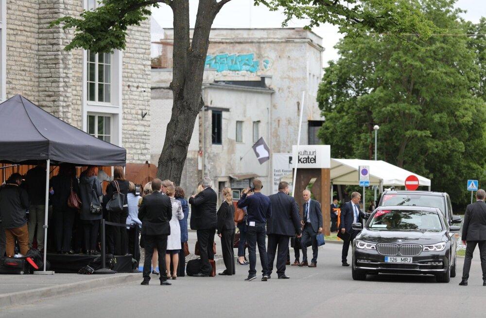 Euroopa ministrid Tallinnas