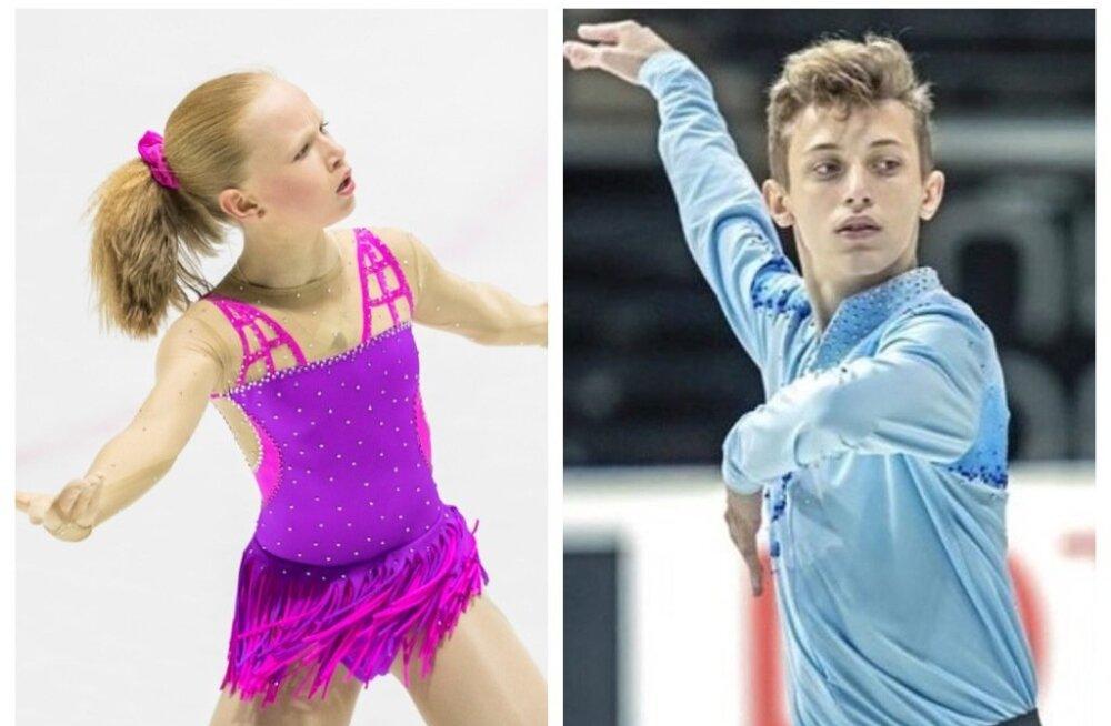 Eva-Lotta Kiibus ja Mihhail Selevko